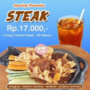 opening masamba steak